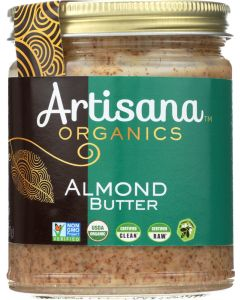ARTISANA: Organic Raw Almond Butter, 8 oz