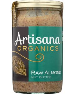 ARTISANA: Organic Raw Almond Butter, 14 oz