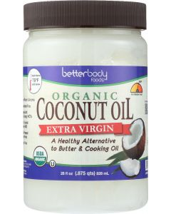 BETTERBODY: Oil Coconut Extra Virgin, 28. oz