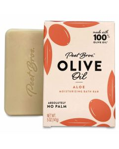 PEET BROS: Olive Oil Aloe Soap, 5 oz