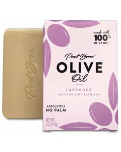 PEET BROS: Olive Oil Lavender Soap, 5 oz