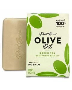 PEET BROS: Olive Oil Green Tea Soap, 5 oz