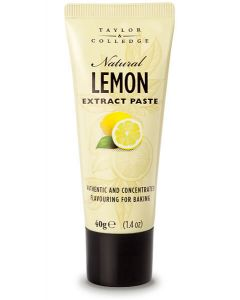 TAYLOR & COLLEDGE: Natural Lemon Extract Paste, 1.4 oz