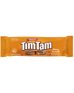 ARNOTTS: TimTam Chewy Caramel Cookie, 6.2 oz