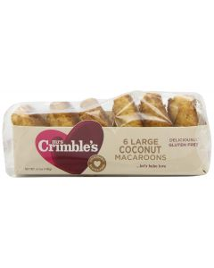 MRS CRIMBLES: Traditional Coconut Macaroons, 6.7 oz