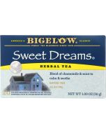 BIGELOW: Sweet Dreams Herb Tea Blend Of Chamomile And Mint 20 Tea Bags, 1.09 oz