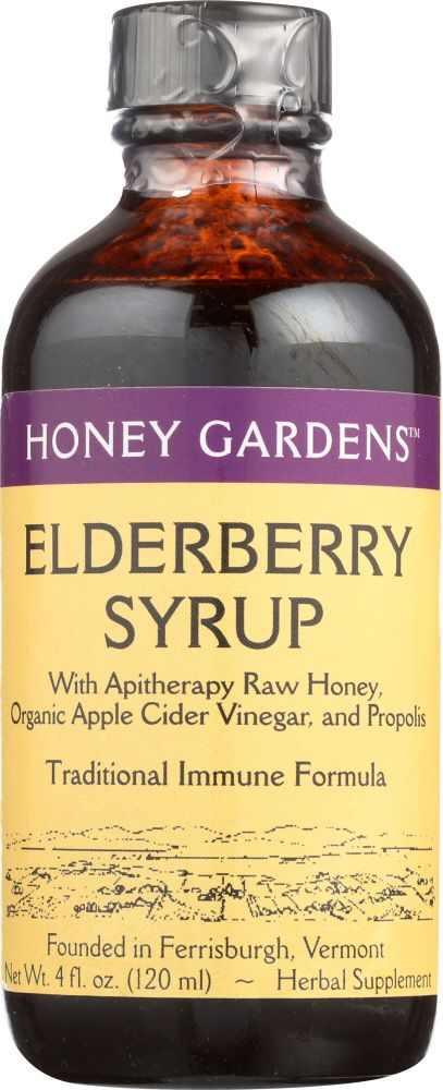 Elderberry Honey Syrup is a powerful flu remedy