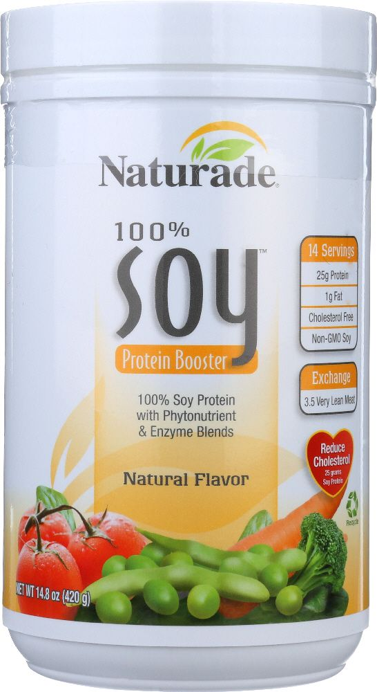NATURADE: Soy Protein Booster Natural, 14.8 oz
