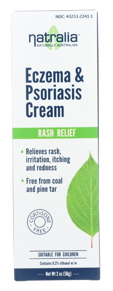 NATRALIA: Eczema And Psoriasis Cream, 2 Oz