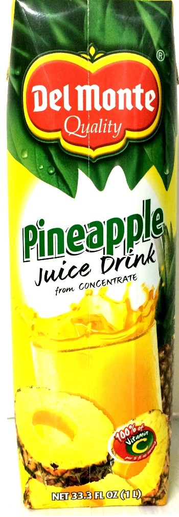 DEL MONTE: Pineapple Juice Drink, 33.3 oz