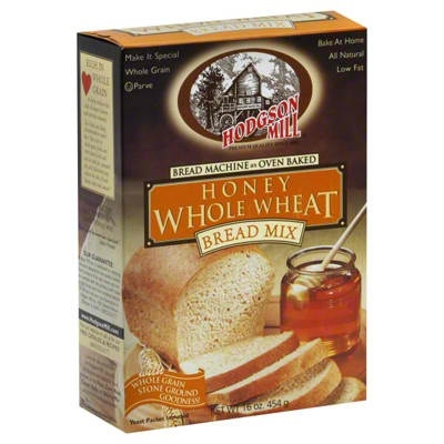 HODGSON MILL: Honey Whole Wheat Bread Mix, 16 Oz
