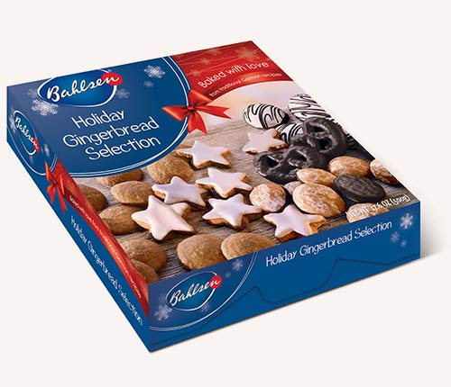 BAHLSEN HOLIDAY: Gingerbread Box Selection Assorted, 17.6 oz