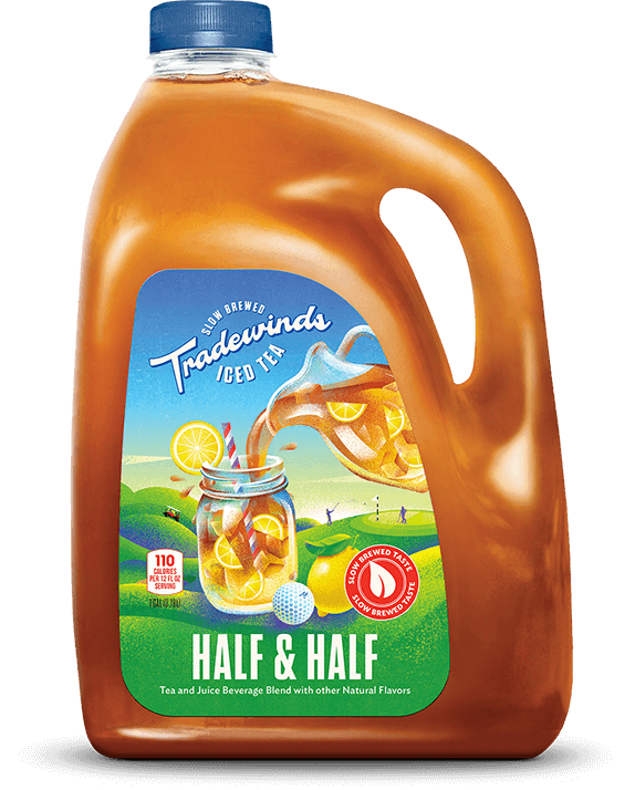 TRADEWINDS TEA HOUSE: Half & Half Lemonade Tea Rtd, 128 fl oz