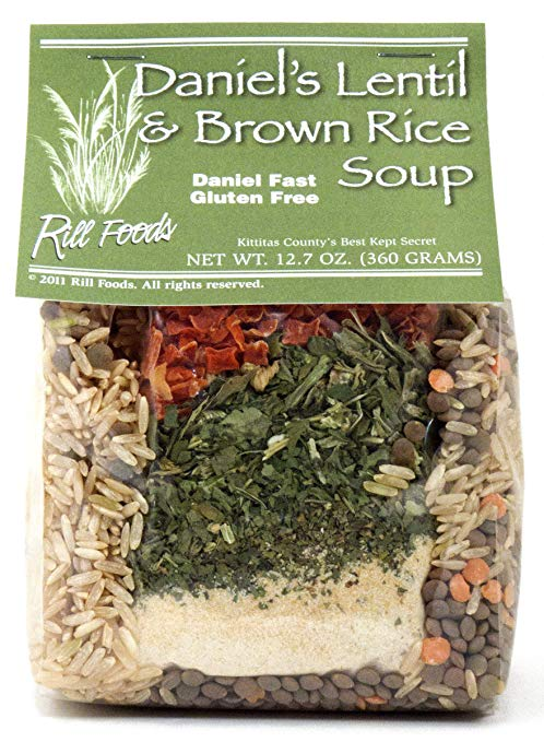 RILL FOODS: Lentil and Brown Rice Soup, 12.7 oz