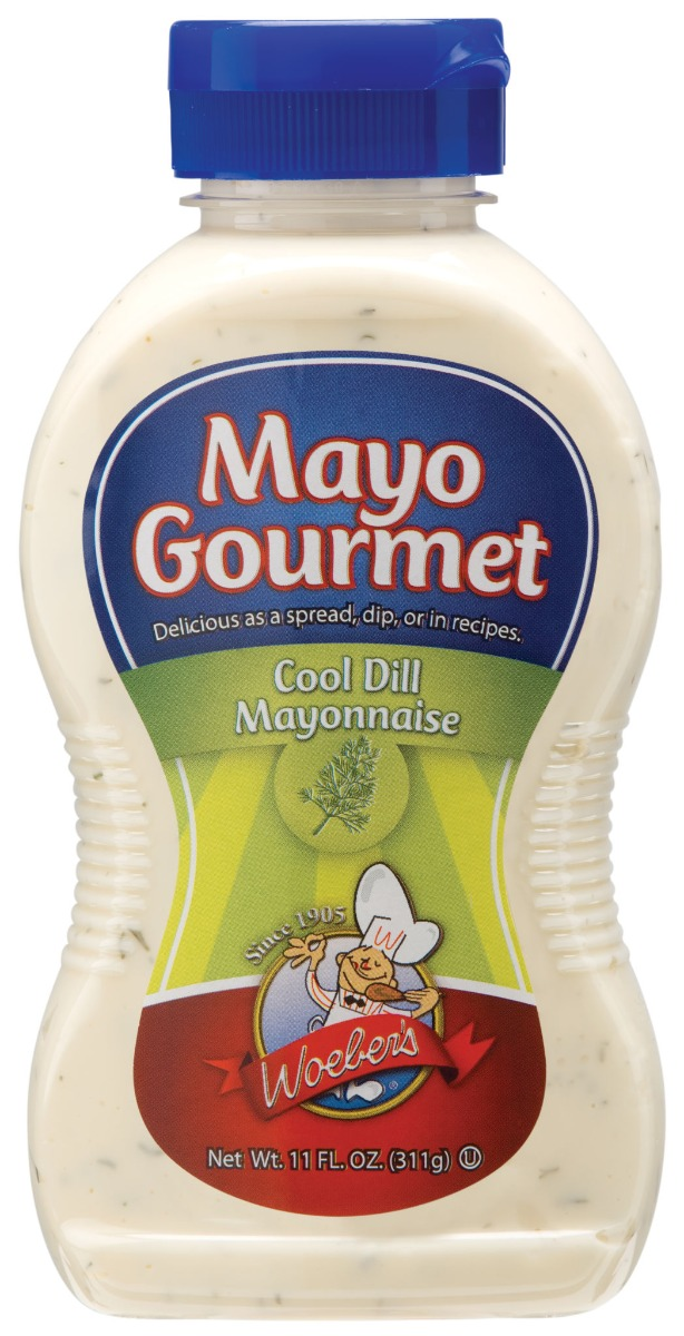 WOEBER: Cool Dill Mayonnaise, 11 oz