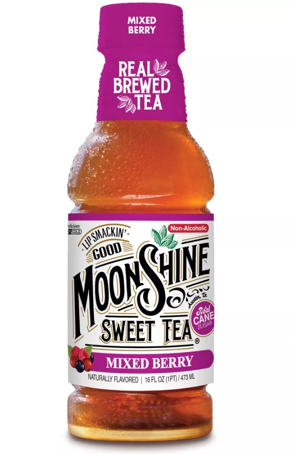 MOONSHINE SWEET TEA: Mixed Berry Tea, 16 fl oz