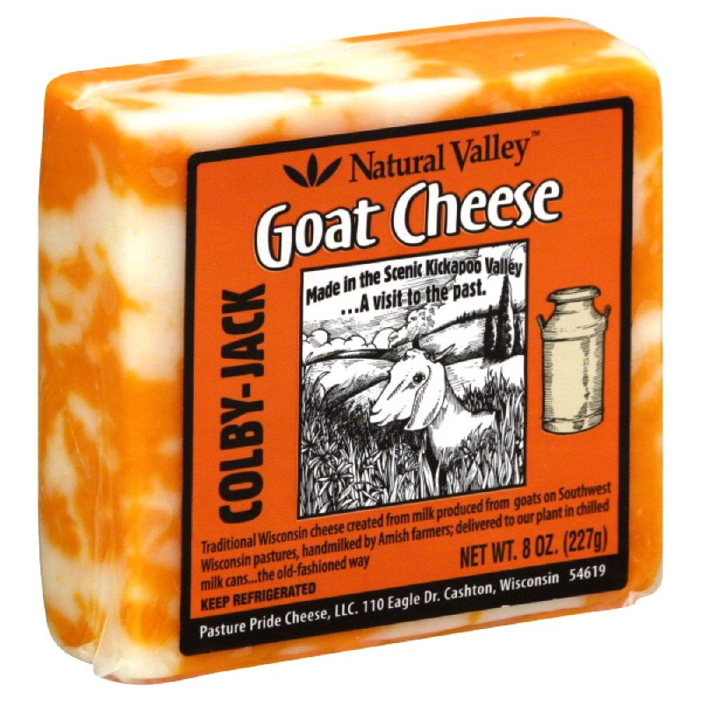 NATURAL VALLEY: Goat Cheese Colby Jack, 8 oz