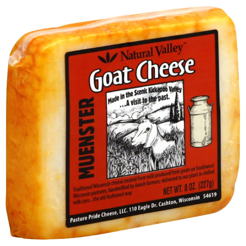 NATURAL VALLEY: Goat Cheese Muenster, 8 oz
