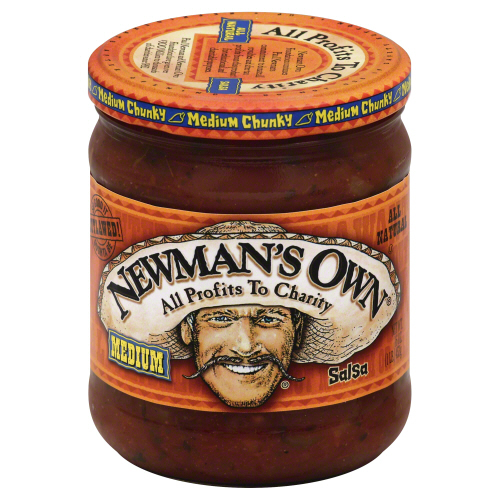 NEWMANS OWN: Salsa Bandito Medium, 16 oz