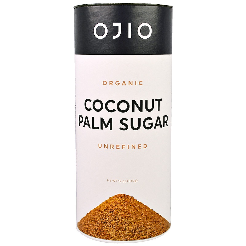 OJIO: Sugar Coconut Palm Unrefined Organic, 12 oz
