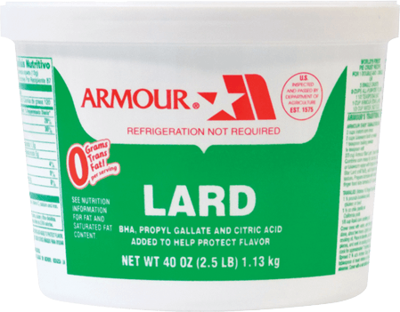 ARMOUR: Lard in Pail, 2.5 lb