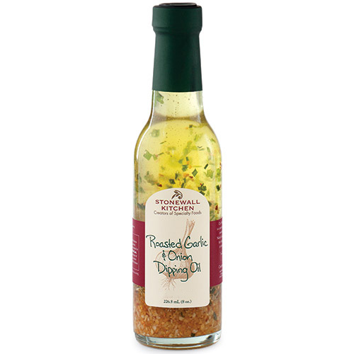 STONEWALL KITCHEN: Roasted Garlic & Onion Dipping Oil, 8 oz