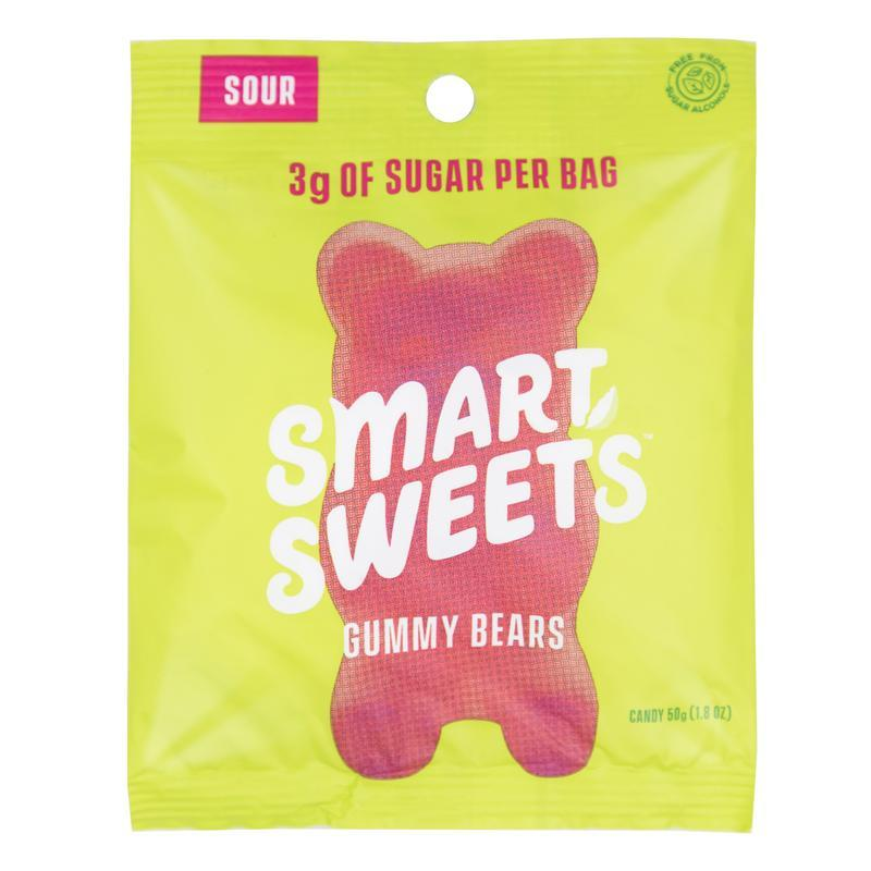 SMARTSWEETS: Candy Gummy Bear Sour, 1.8 oz