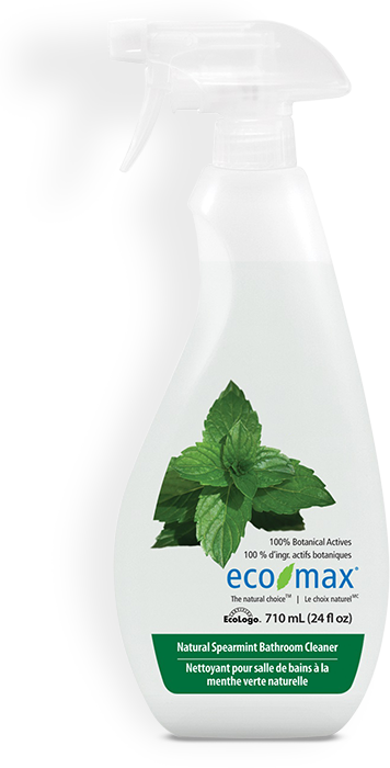ECO MAX: Bathroom Cleaner Spearmint, 24 fo