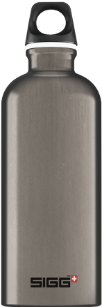 SIGG: Aluminum Bottle-Traveller Smoked Pearl, .6 lt