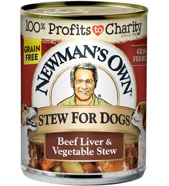 NEWMANS OWN ORGANIC: Dog Food Beef Liver & Vegetable Stew, 12 oz