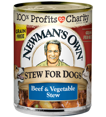 NEWMANS OWN ORGANIC: Dog Food Beef & Vegetable Stew, 12 oz