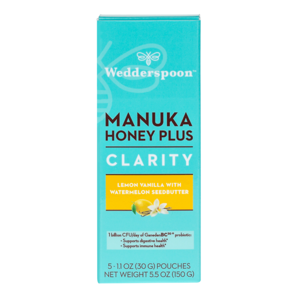 WEDDERSPOON: Manuka Honey Clarity Lemon Vanilla, 150 gm